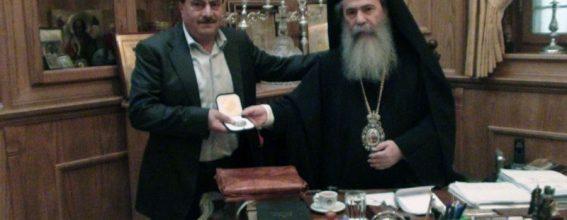 البطريرك ورئيس مجلس دير حنا
