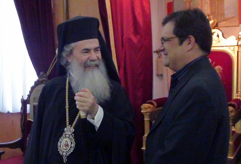 غبطة البطريرك وعضو البرلمان السيد بيليراكيس