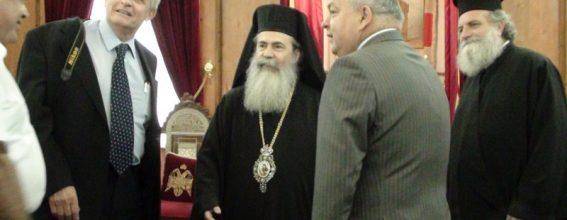 قادة الشرطة في بلغاريا تزور البطريركية الارثوذكسية