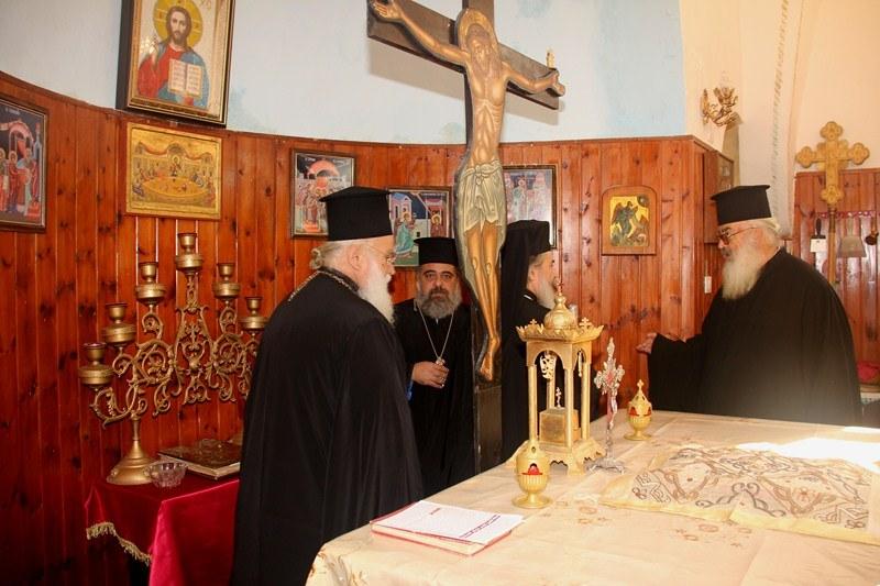 غبطة البطريرك يزور مزارات وكنائس في شمالي البلاد