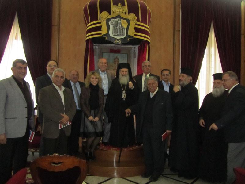 غبطة البطريرك ومجلس طائفة كفرياسيف