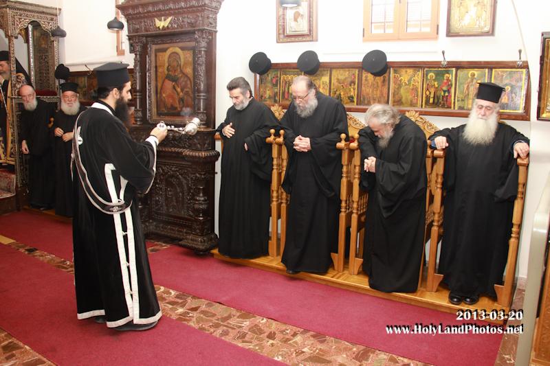 قداس البروجيازميني الاول في بطريركية الروم الاورشليمية