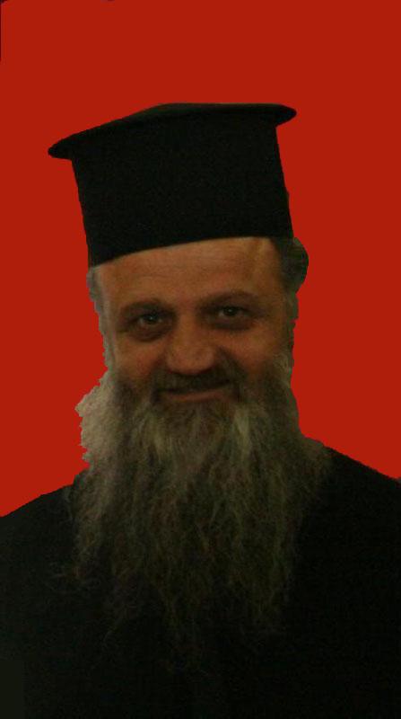 رئيس اساقفة اللد المنتخب الجديد الاب ديميتريوس