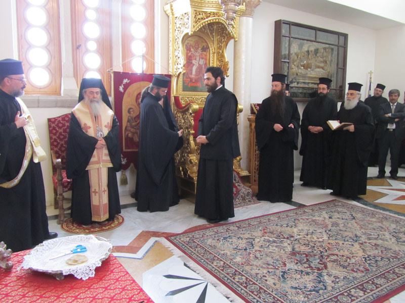 تعيين متوحد جديد في البطريركية الأورشليمية