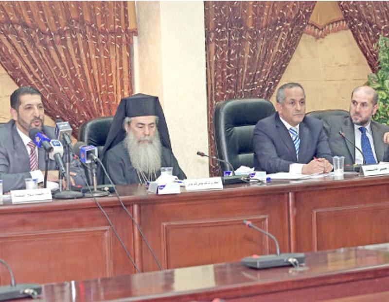 غبطة البطريرك يشارك في يوم الوئام الديني