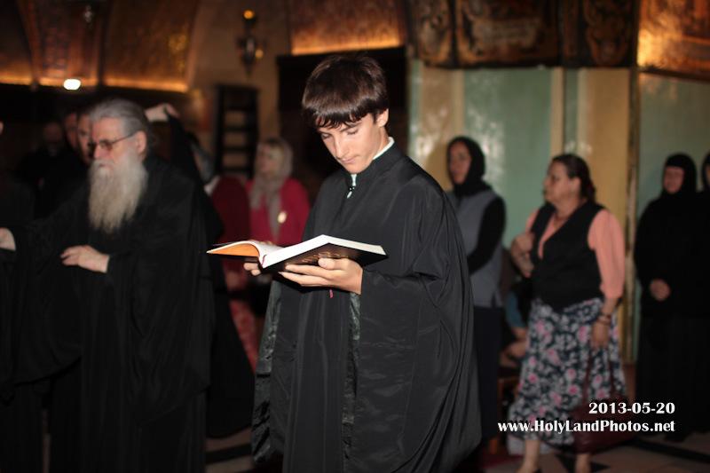 """الاحتفال بعيد """"ظهور علامة الصليب المقدسة في السماء"""" في بطريركية الروم الارثوذكسية"""