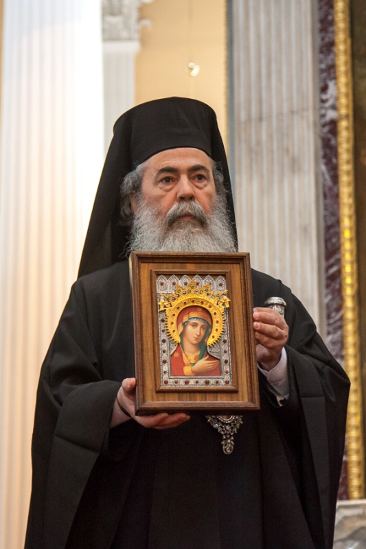 زيارة غبطة بطريرك المدينة المقدسة السلمية في روسيا