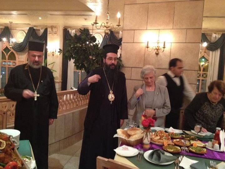 زيارة الأب عيسى مصلح إلى قطر