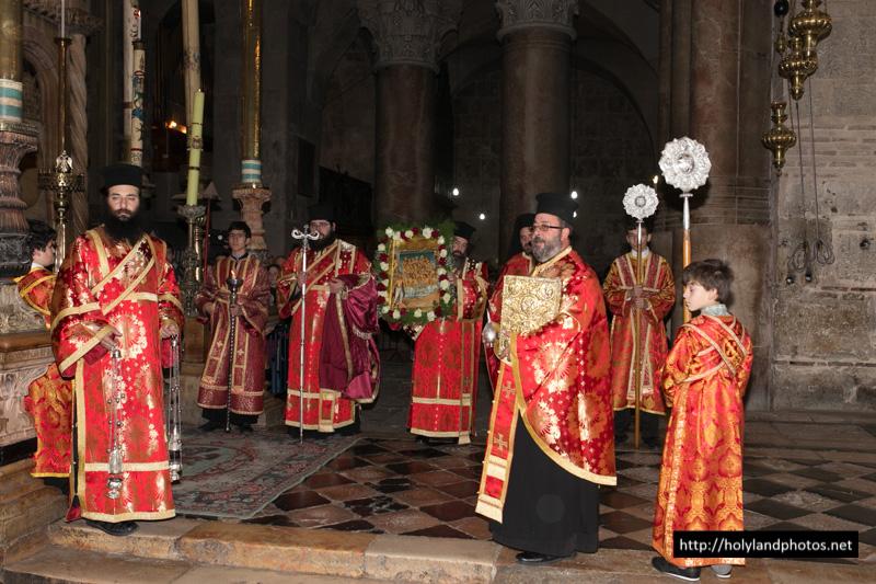 بطريركية الروم الارثوذكسية تحتفل بعيد شفيع غبطة البطريرك ثيوفيلوس