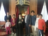 وزير السياحة الاردني يزور بطريركية الروم الارثوذكسية