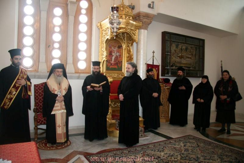 رسامة راهب جديد في البطريركية