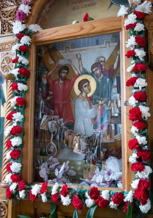ألاحتفال بعيد القديس الشهيد استيفانوس في بطريركية الروم الارثوذكسية