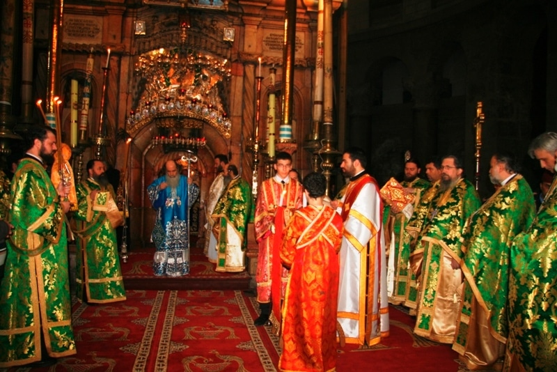 ألاحتفال بعيد الظهور الالهي في بطريركية الروم الاورثوذكسية
