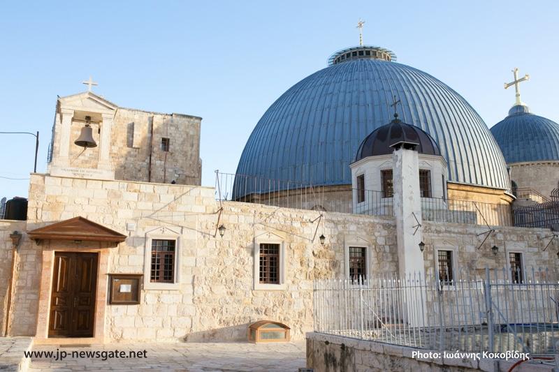 خدمة صلاة قداس البروجزميني (السابق تقديسه) الاولى في البطريركية الاورشليمية