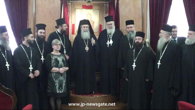 0.jpgسيادة متروبوليت ذوذوني يزور البطريركية الاورشليمية