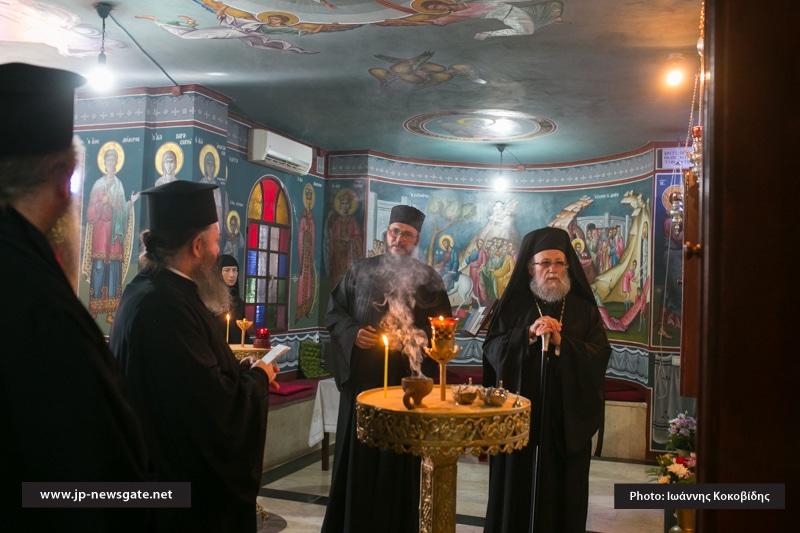 01-1ألاحتفال بعيد الصعود في البطريركية الاورشليمية