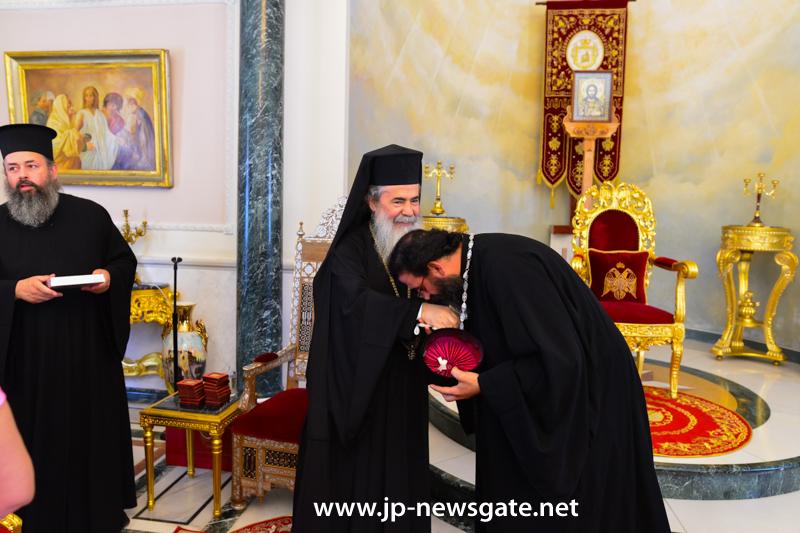 1مجموعة من الطائفة الاورثوذكسية في الاردن تزور البطريركية