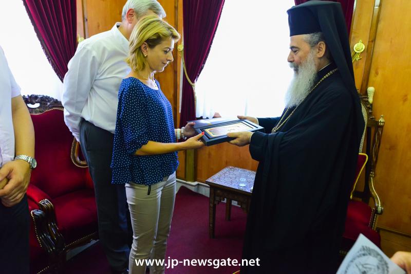 0002وفد حكومي من بلغاريا يزور البطريركية