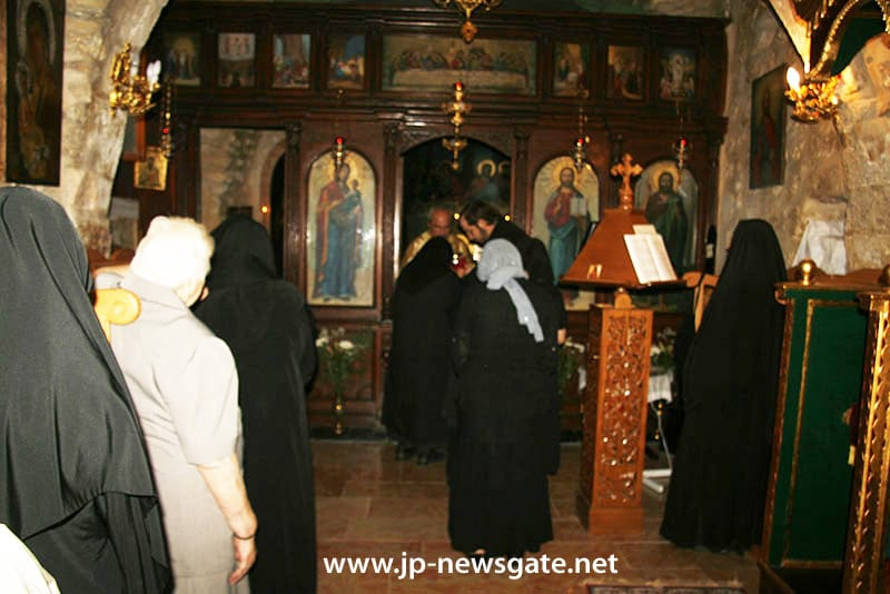 01عيد القديسة باراسكيفي في البطريركية الاورشليمية
