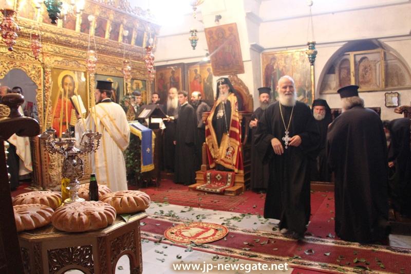 01عيد القديسة ثقلا في البطريركية
