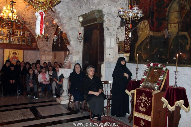 01-2عيد نقل ذخائر القديس جوارجيوس اللابس الظفر في البطريركية