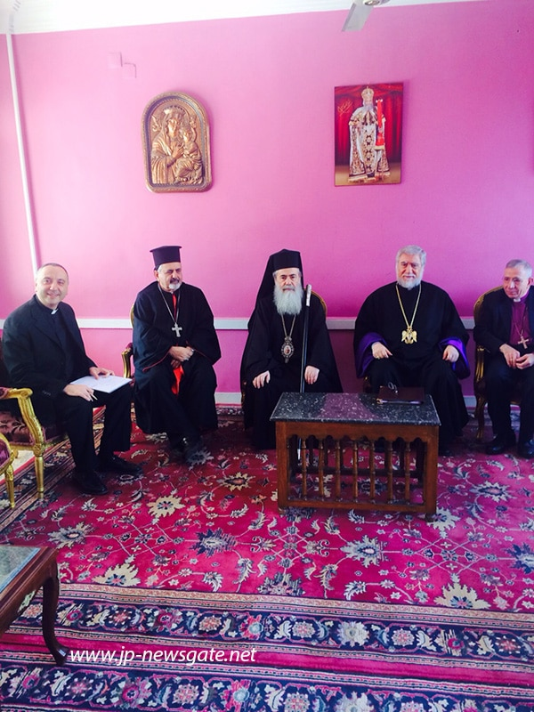 01البطريركية الاورشليمية تُشارك في اللجنة التنفيذية لمجلس كنائس الشرق الاوسط في القاهرة