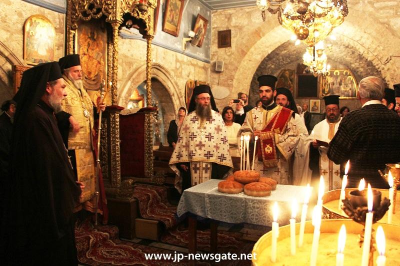 01عيد القديس يعقوب اخو الرب في البطريركية الاورشليمية
