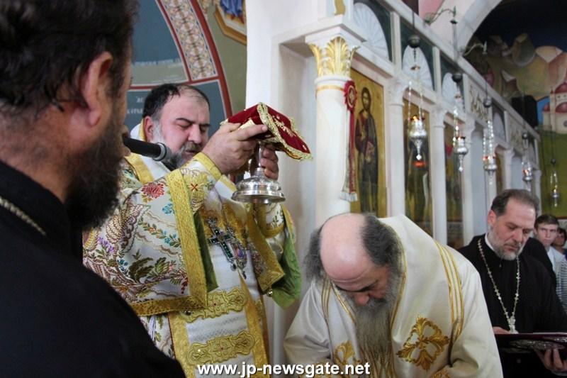 03ألاحتفال بعيد رؤساء الملائكة في مدينة يافا