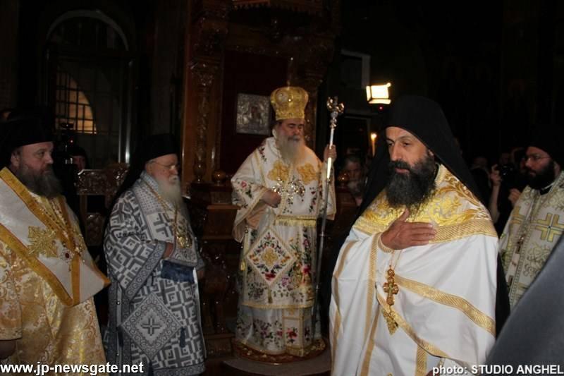 06يوم إعلان قداسة البار يوحنا الخوزيفي الجديد في دير الخوزيفي في وادي قلط