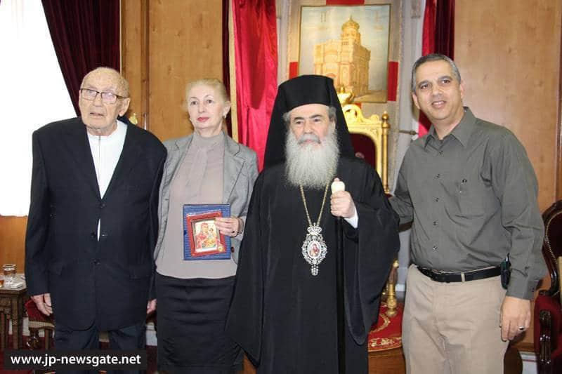 01وزير السياحة الصربي يزور البطريركية