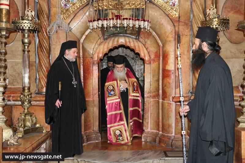 01-1ألاحتفال بعيد تذكار القديس ثيوفيلوس شفيع غبطة البطريرك كيريوس كيريوس ثيوفيلوس الثالث