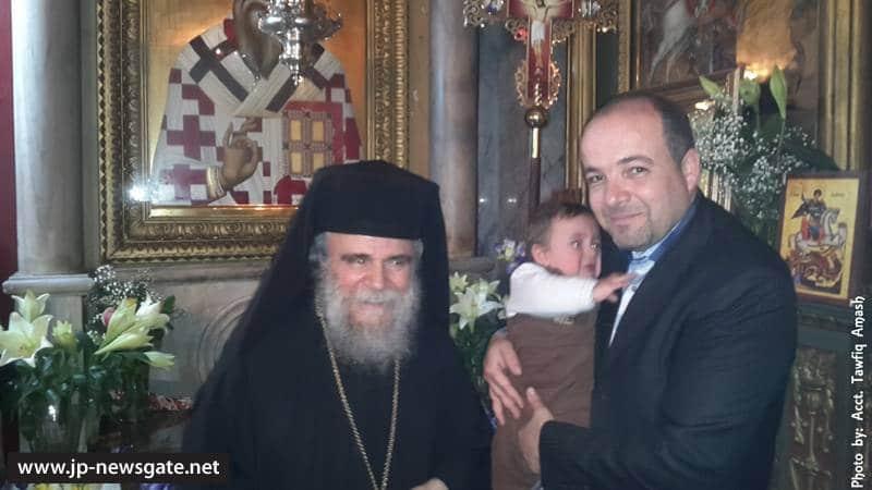 01ألاحتفال بعيد القديس بورفيريوس في غزه