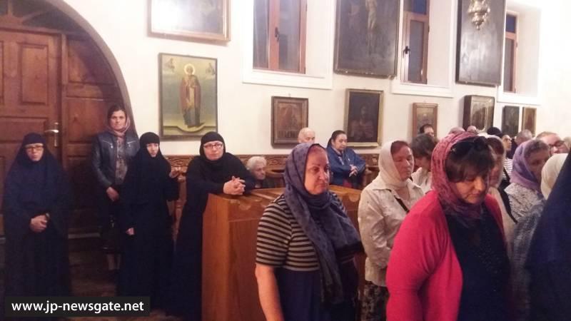 02خدمة الصلاة المسائية وصلاة الغفران في البطريركية