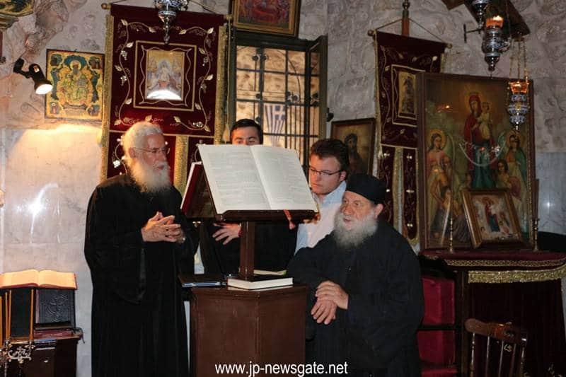 01عيد القديس جوارجيوس اللابس الظفر في المدينة المقدسة أورشليم