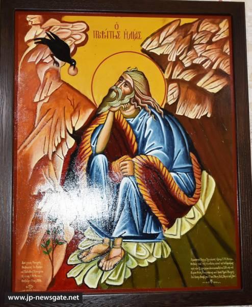 01قداس احتفالي بمناسبة عيد النبي مار الياس-ايليا في بلدة معلول