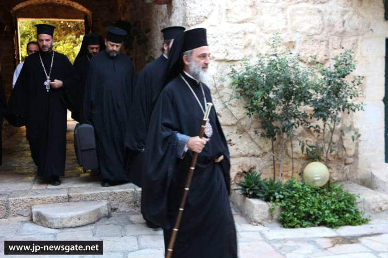 01ألاحتفال بالاحد بعد عيد الصليب المحيي في البطريركية ألاورشليمية