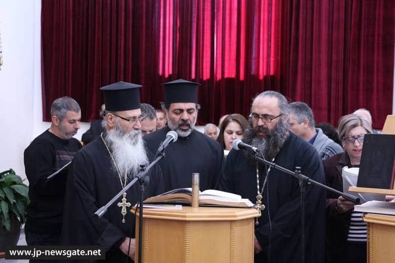 01تدشين كنيسة القديس جوارجيوس اللابس الظفر في قرية البقيعة