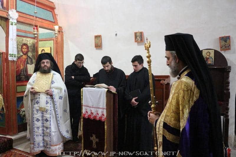 01ألاحتفال بعيد القديس موذيستوس في البطريركية