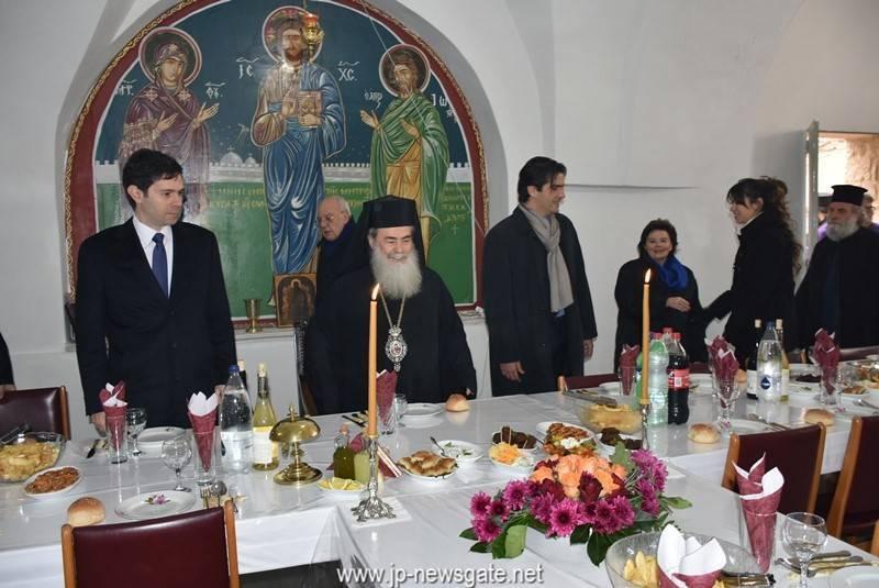 01 (1)ألاحتفال عيد ختان ربنا يسوع المسيح بالجسد وبعيد القديس باسيليوس الكبير في البطريركية