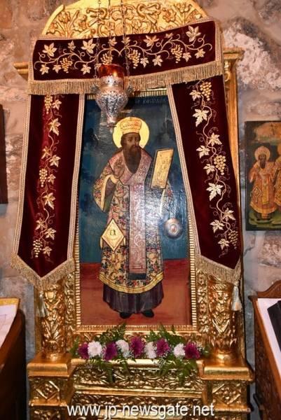 01عيد القديس باسيليوس الكبير في دير القديس باسيليوس في البطريركية