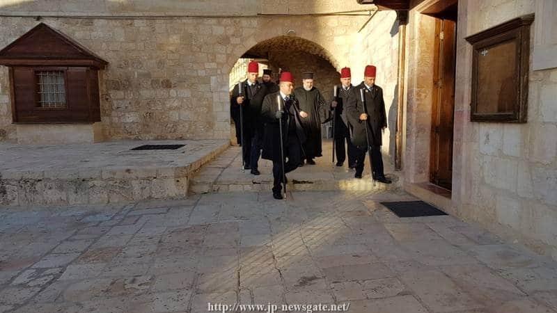 01عيد تهيئة والدة ألاله في البطريركية ألاورشليمية