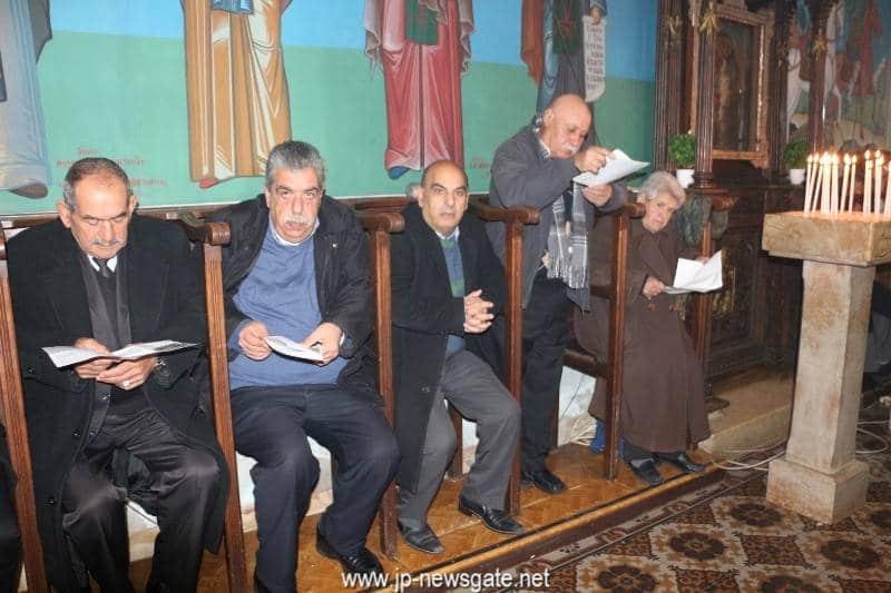 01غبطة البطريرك يُدشن قاعة كنيسة دير القديس جوارجيوس في بيت جالا