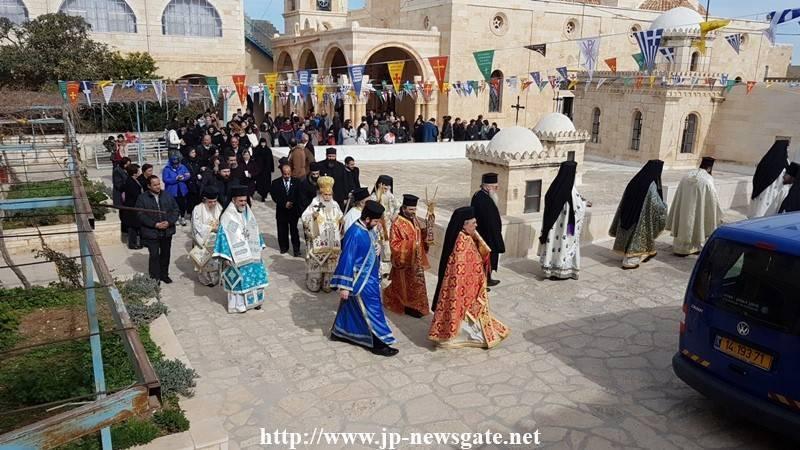02ألاحتفال بعيد القديس ثيوذوسيوس في البطريركية