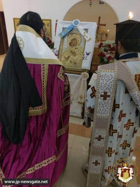 –1خدمة المديح الذي لا يجلس فيه لوالدة الإله في قطر