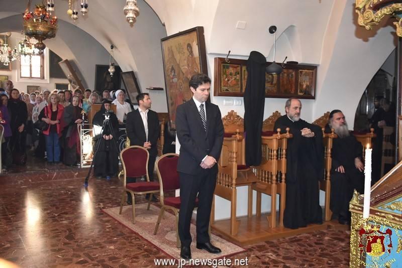 02إثنين الفصح (إثنين الباعوث) في البطريركية 2017
