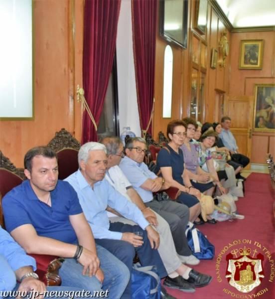 02سيادة متروبوليت باترا كيريوس خريسوستوموس يزور البطريركية