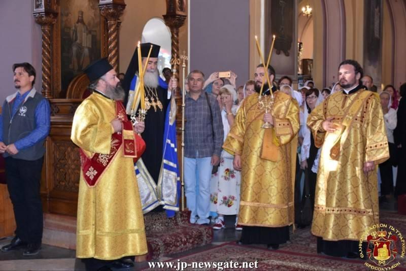 24غبطة البطريرك يترأس خدمة القداس الالهي بمناسبة الذكرى ال 170 لتأسيس البعثة الروسية الروحية