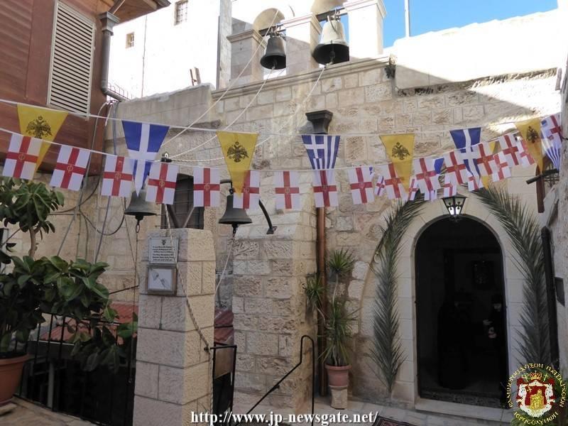 01الإحتفال بعيد دخول السيدة الى الهيكل في البطريركية