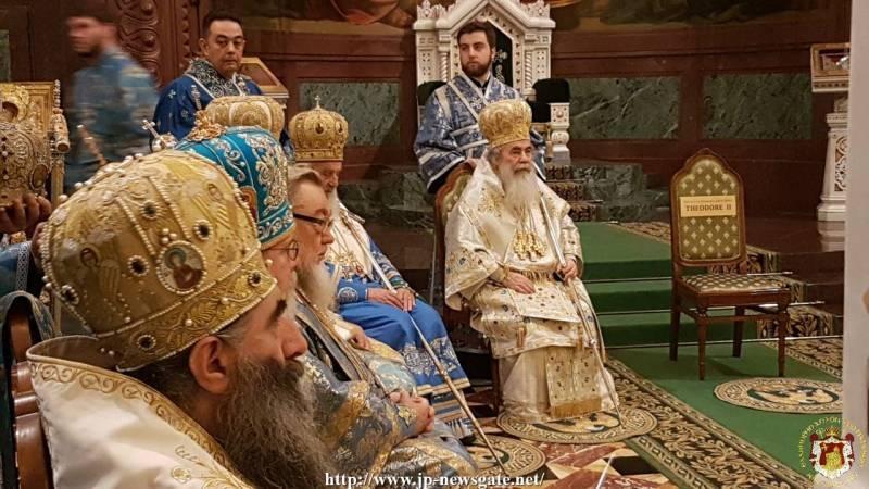 01اليوم الخامس من زيارة غبطة البطريرك الى موسكو