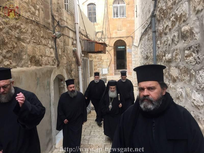01الإحتفال بعيد القديس باسيليوس الكبير في البطريركية